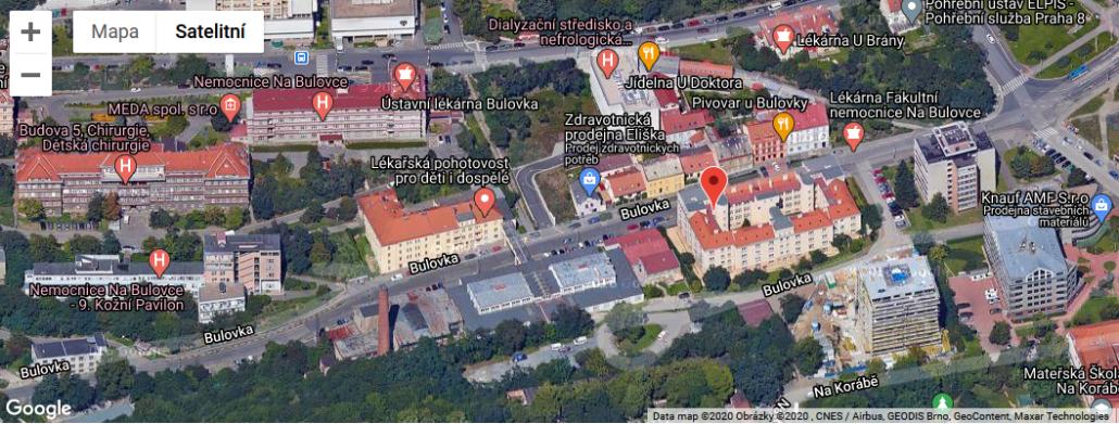 Sídlo pečovatelské služby Sociálních a ošetřovatelských služeb Prahy 8; vedoucí služby Jan Šmída